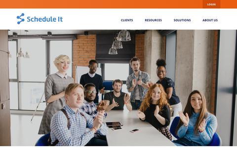 Screenshot of Jobs Page scheduleit.io - Schedule It - Careers - captured July 5, 2018