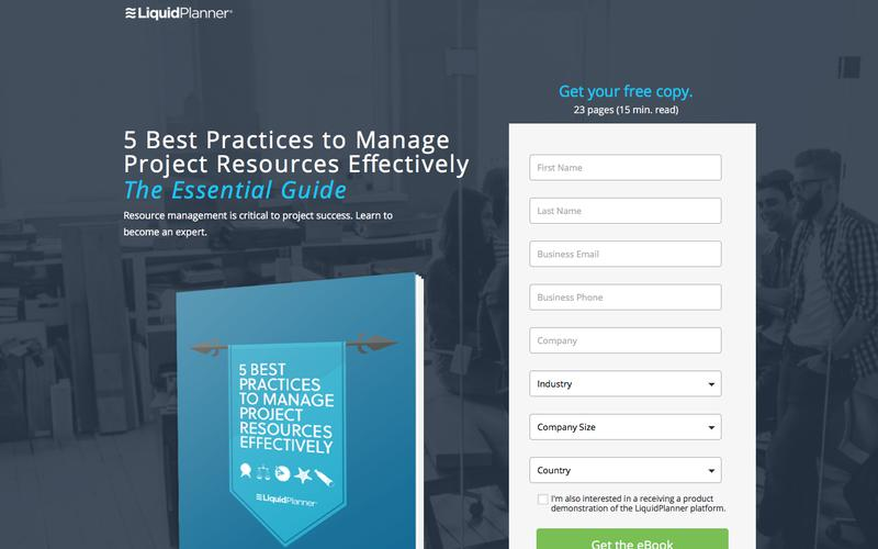 Dynamic Project Management Software | LiquidPlanner