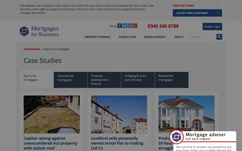 (1) Buy to let case studies | Mortgages for Business