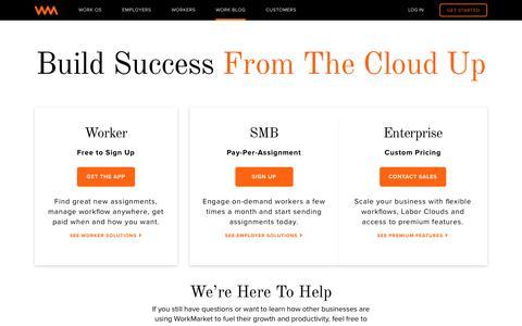 Get Started on WorkMarket