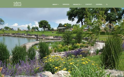 Screenshot of Home Page sites-sw.com - Home - Sites Southwest - captured Nov. 19, 2016