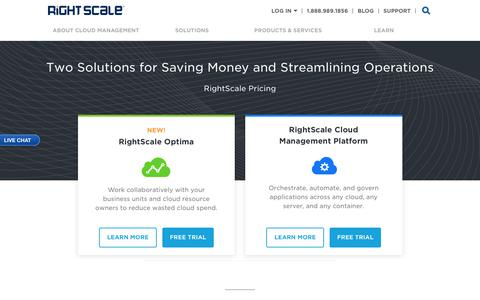 RightScale Pricing