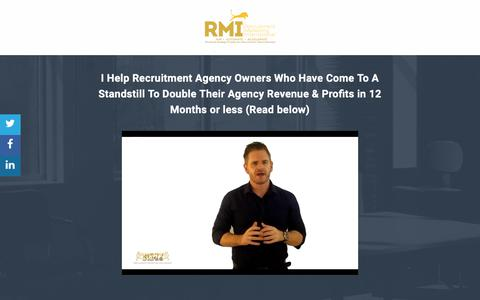 Screenshot of Case Studies Page recruitmentmarketinginternational.com - Here's What Others Say To Us - captured Oct. 9, 2018