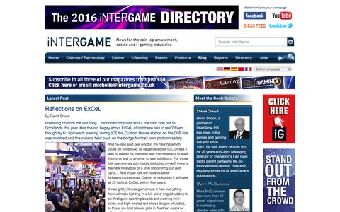 Screenshot of Blog intergameonline.com - Blog   InterGame - captured Feb. 11, 2016