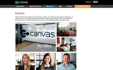 Canvas Job Openings