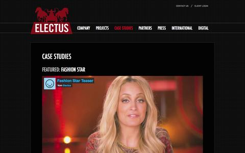 Screenshot of Case Studies Page electus.com - Case Studies - Electus - captured Sept. 24, 2014
