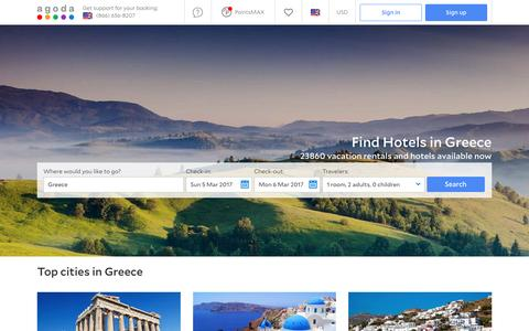 Greece Hotels - Online hotel reservations for Hotels in Greece