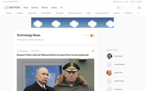 Technology News | Reuters.com
