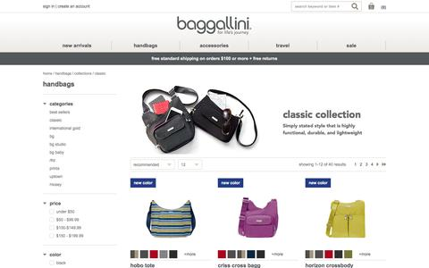 Classic Collection at baggallini - Free Shipping on orders $100