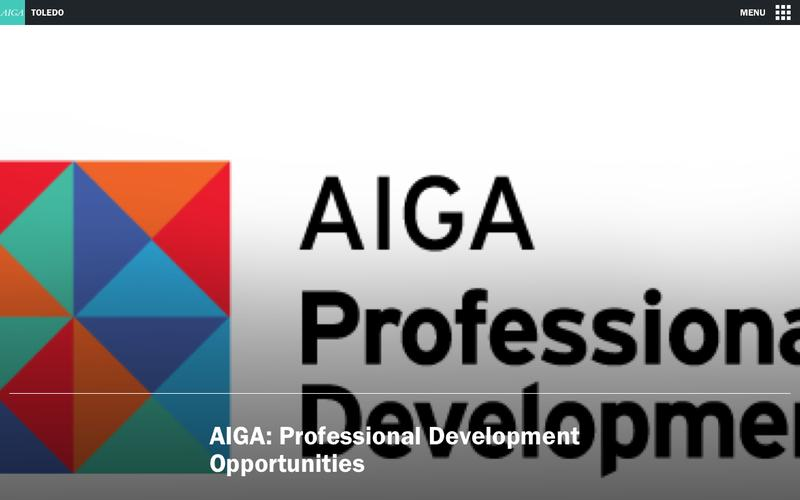 AIGA: Professional Development Opportunities | AIGA Toledo