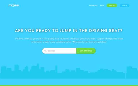 Screenshot of Home Page midrive.com - Jade says... - captured Dec. 11, 2015