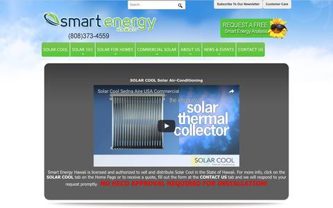 Screenshot of Login Page smartenergyhawaii.com - Hawaii Solar Power & Solar Panels by Smart Energy Hawaii > Home - captured Dec. 20, 2016