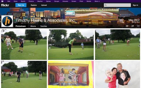 Screenshot of Flickr Page flickr.com - Flickr: Timothy Haahs & Associates, Inc.'s Photostream - captured Oct. 26, 2014