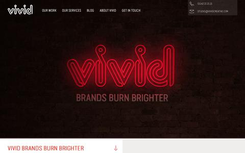 Brand, Marketing, Web Design & SEO Agency in Sheffield | Vivid Creative