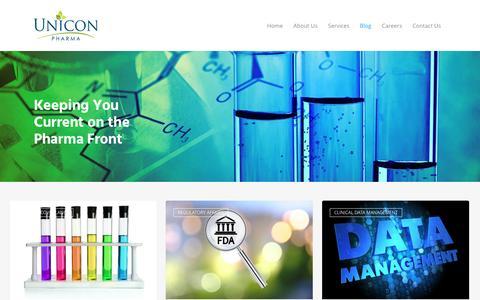 Screenshot of Blog uniconpharma.com - Blog | Unicon Pharma - captured July 21, 2016