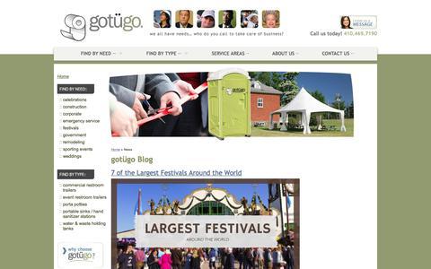 Screenshot of Blog gotugo.com - Blog | gotügo - captured July 25, 2018