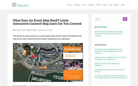 MapJam Blog - Beautiful Personalized Map Sharing
