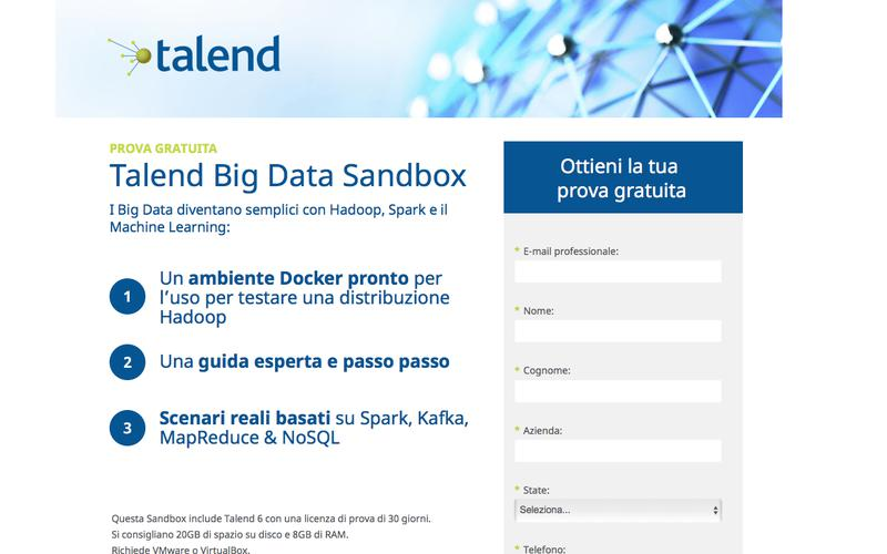 Talend Big Data Sandbox
