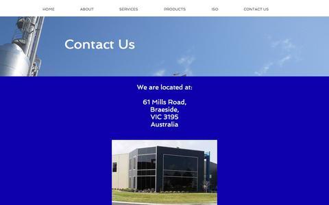 Screenshot of Contact Page engertrol.com.au - engertrol | CONTACT US - captured Aug. 7, 2017