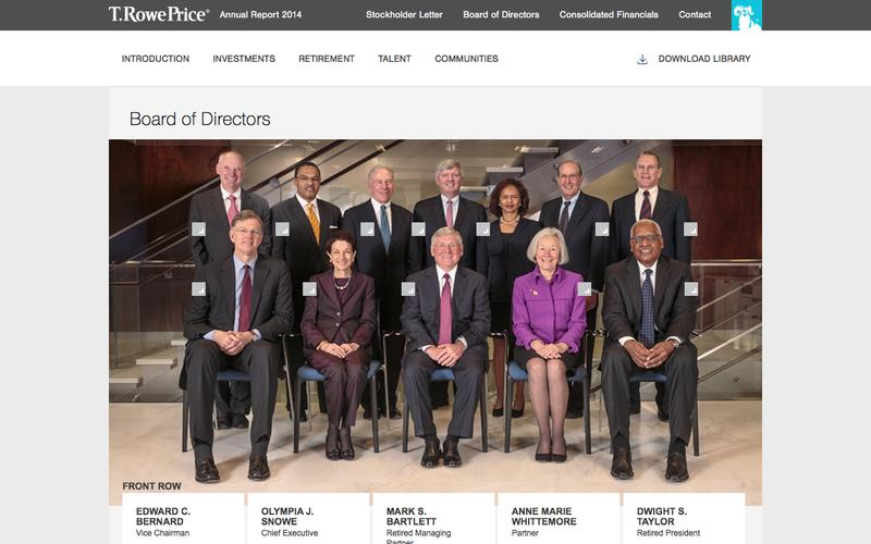T. Rowe Price - Board of Directors