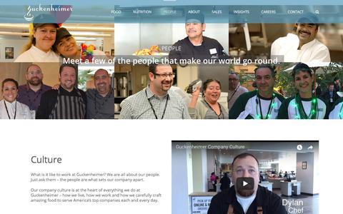 Screenshot of Team Page guckenheimer.com - People – Guckenheimer - captured July 25, 2018