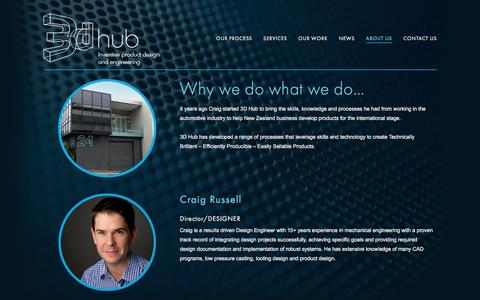 Screenshot of About Page 3dhub.co.nz - About Us — 3dhub - captured Nov. 28, 2016