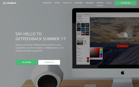 Mobile Survey Software Features - GetFeedback - GetFeedback