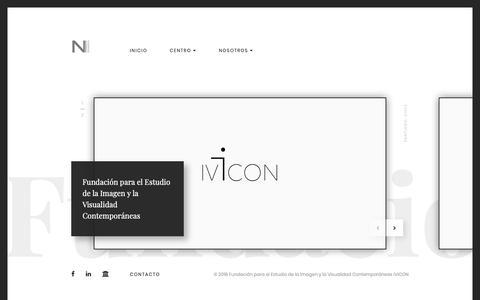 Screenshot of Home Page noimagen.net - Centro de Estudios Visuales :: NOiMAGEN - captured Sept. 27, 2018