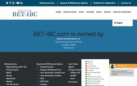 Screenshot of About Page bet-ibc.com - Company Info - captured Nov. 6, 2018