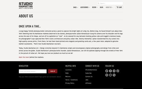 About Us                           | Studio Manhattan