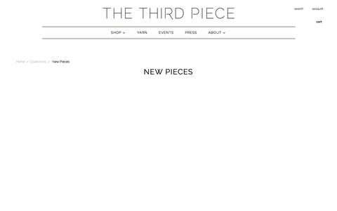 New Pieces | The 3rd Piece