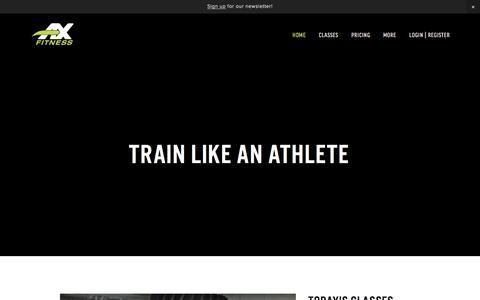 AX Fitness | Athletic Performance Training Gym
