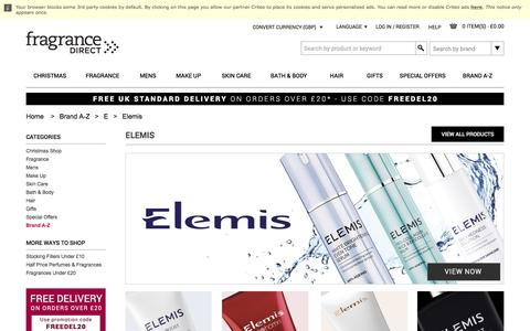 Elemis Skin Care, Skin Products & Creams | Fragrance Direct