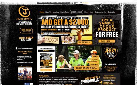Australian Beef Jerky | Jim's Jerky, Queensland