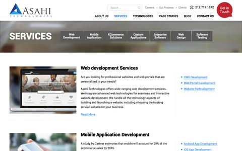 Medium traffic Software Services Pages on WordPress | Website