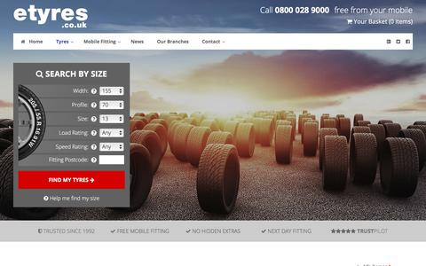 Cheap Chrysler Tyres With Free Mobile Fitting - etyres