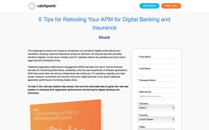 Catchpoint   5 Tips Retooling Your APM Ebook