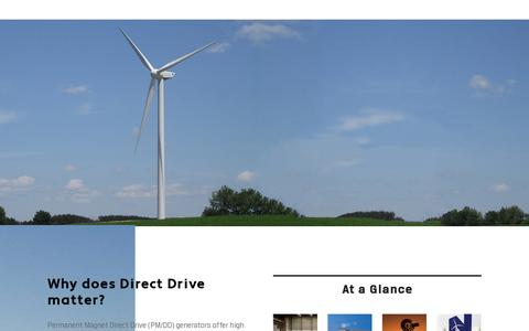 Screenshot of Home Page northernpower.com - Home | Northern Power SystemsNorthern Power Systems - captured July 11, 2014