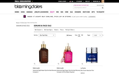 Face Serum & Oil: Acne, Anti Aging Serum & More - Bloomingdale's