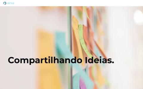 Screenshot of Home Page apriva.pt - Apriva - Página inicial - captured Feb. 9, 2020