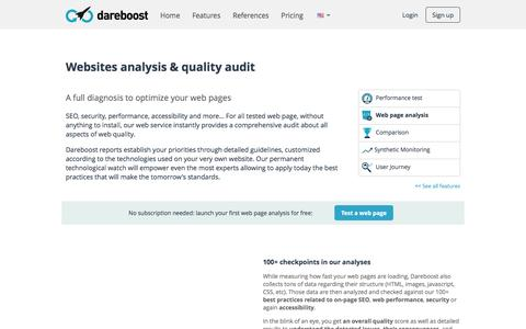 Website Analysis: Speed and Quality Optimization