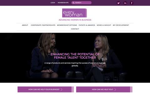 Everywoman | Advancing women in business