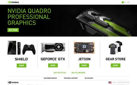 Welcome to the Official NVIDIA Store.