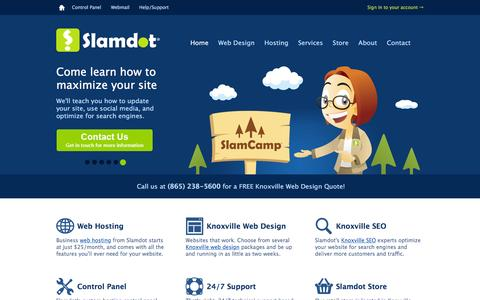 Slamdot: Knoxville Web Design & SEO