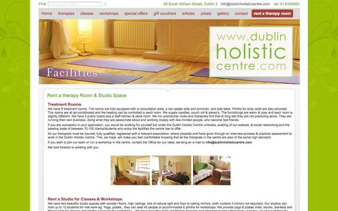Screenshot of Signup Page dublinholisticcentre.com - Dublin Holistic Centre | Holistic Jobs | Join our Team | - captured Sept. 30, 2014