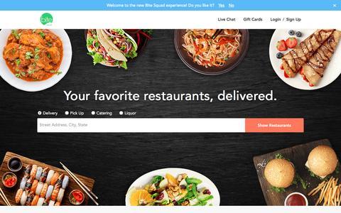 Food Delivery & Restaurants Delivery - Order Food Online - BiteSquad.com