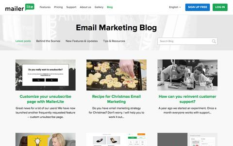 Email Marketing Blog by MailerLite