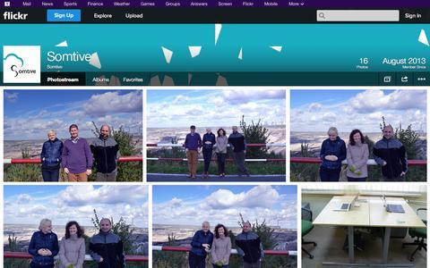Screenshot of Flickr Page flickr.com - Flickr: Somtive's Photostream - captured Oct. 26, 2014