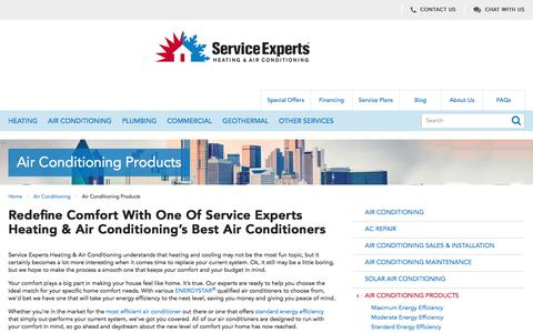 Air Conditioners in North America | Service Experts