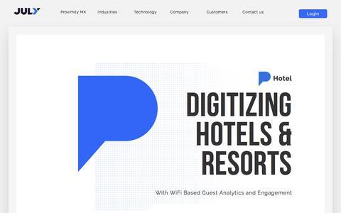 Hotels WiFi Analytics- Guest Wifi Analytics & Insights